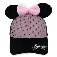 Sweet Minnie Mouse Ears Baseball Cap for Women