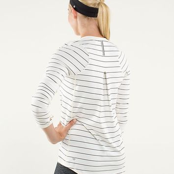 tuck and flow long sleeve | women's tops | lululemon athletica