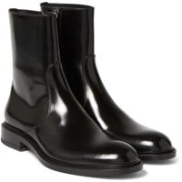 Jil Sander - Antick Polished-Leather Boots