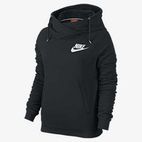 The Nike Rally Boyfriend Full-Zip Women's Hoodie.