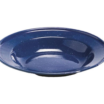 "Texsport Enamelware Dinner Plate - 8.50"" Diameter Plate - Steel"