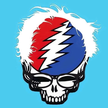 "Bernie Sanders Grateful Dead 4""x4"" sticker"