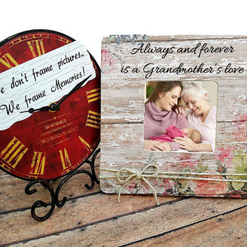 Grandma Photo Frame, Gift For Mom, Best Mom Photo Frame, Christmas Gift for Grandma