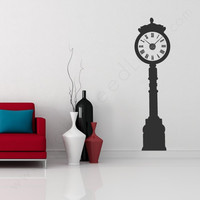 Grandfather Clock Wall Decal - Default