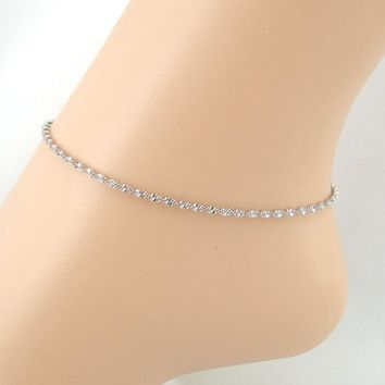 Water Ripple Anklet Foot Jewelry