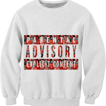 Parental Advisory Sweatshirt🔥