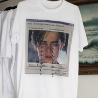 CRYING LEONARDO DICAPRIO SHIRT