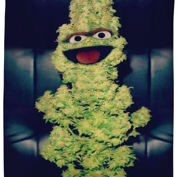 Oscar the Nug Shower Curtain