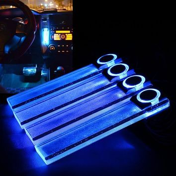 Blue LED Interior Light Car Styling Lamp
