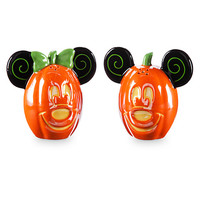 Mickey and Minnie Mouse Halloween Salt & Pepper Set | Disney Store