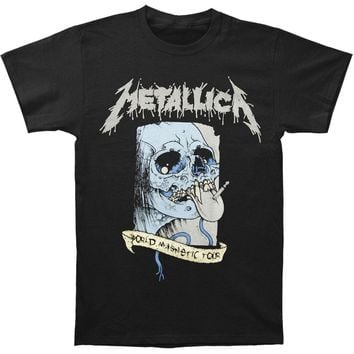 Metallica Men's  Soiree 08/09 Glendale T-shirt Black