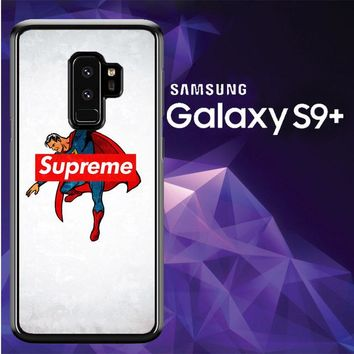 Supreme Trend Superman Hero Logo L2006 Samsung Galaxy S9 Plus Case