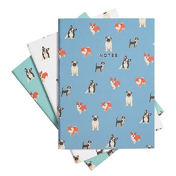 BOW WOW NOTEBOOK 3/SET