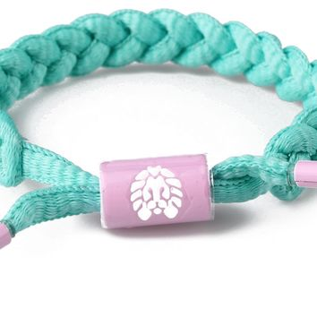 Rastaclat Now Later MiniClat Womens Kids Braided Shoelace Bracelet RCW001NWLT