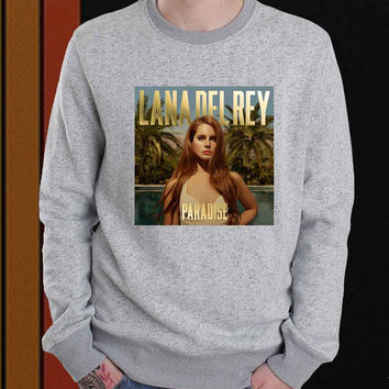 Lana Del Rey Paradise sweater Sweatshirt Crewneck Men or Women Unisex Size