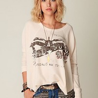 Free People Graphic Love Bug Thermal