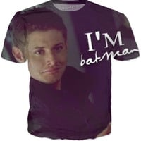"Supernatural Dean/Jensen ""I'm Batman"" T-Shirt"
