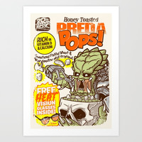 PredaPOPS! Art Print by Gimetzco's Damaged Goods
