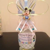 Mickey Mouse Baby bottle Favor
