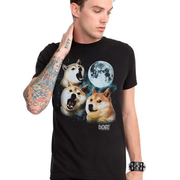 Doge Three Doge Night T-Shirt
