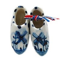 Delft Clogs Magnet Embossed Clogs