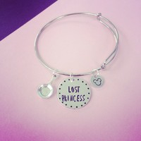 Lost Princess Tangled Disney Inspired Bangle Bracelet from SHOW PONY
