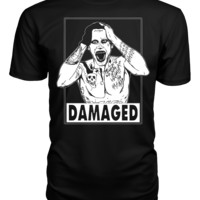 The Joker Damaged Suicide Squad T Shirt Tank Top Hoodie
