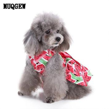 DCCKU7Q dog clothes for small dogs summer puppy chihuahua dog clothes chihuahua dog products 2017 roupa pet