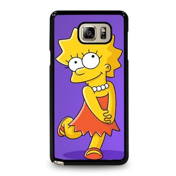 LISA SIMPSONS Samsung Galaxy Note 5 Case Cover