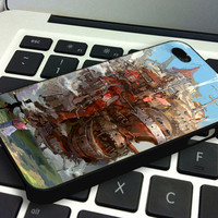 Howl's Moving Castle - Personalized Case for iPhone 4/4s, 5, 5s, 5c, Samsung S3, S4