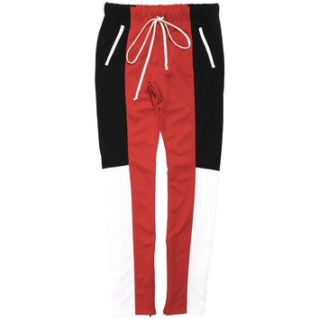 Color Block 3.0 Track Pants Red / Black / White