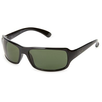 Ray-Ban Rectangle 0RB4075 Sunglasses for Mens