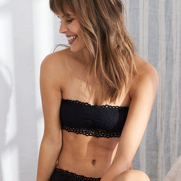 Aerie Boho Bandeau , True Black