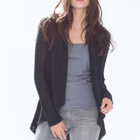 Wooden Ships Carson Cardigan in Black