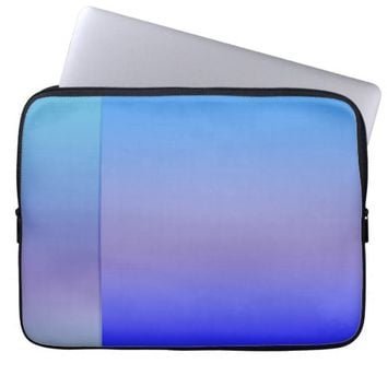 Shades of Blue Laptop Sleeve