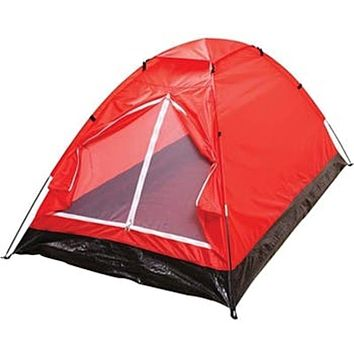 Maxam Extra-Long Red 2-Person Waterproof Tent 3 Units
