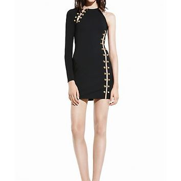 Versace - LION PIERCING ICONIC MINI-DRESS