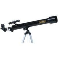 Coleman AT50 Refractor Telescope AstroWatch D50mm x 625mm Black