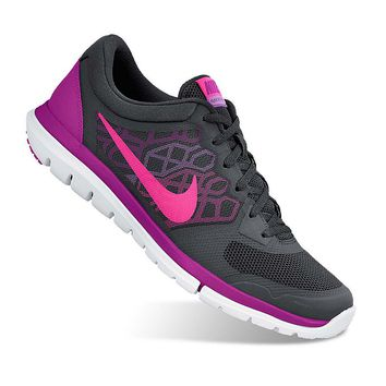 Nike Flex Run 2015 Women's Running Shoes (Black)