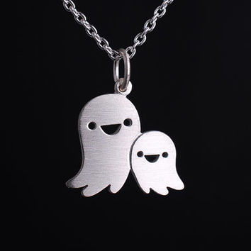 Ghost Friends Necklace