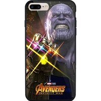 Thanos poster Marvel avengers infinity war iPhone 6/6s/6s+/7/7+/8/8+/X, Samsung