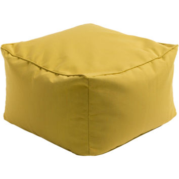 Piper Outdoor Pouf Yellow