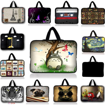 3D print Tablet Sleeve  9.7 /10/10.1 inch Neoprene Tablet PC Pouch Bag Protective Case for Ipad Air 2 For Samsung Xiaomi Lenovo