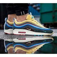 Sale Nike Air Max 97 / 1 Sean Wotherspoon AJ4219-400 VF SW Hybrid Sport Running Shoes