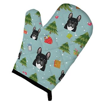 Christmas French Bulldog Oven Mitt BB5016OVMT