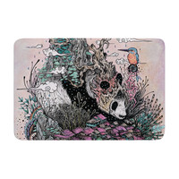 "Mat Miller ""Land of The Sleeping Giant"" Panda Memory Foam Bath Mat"