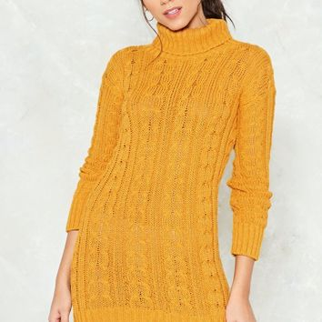 Warm Welcome Longline Sweater