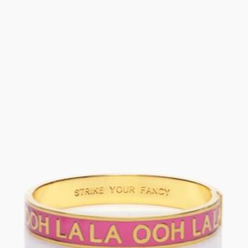 ooh la la idiom bangle - kate spade new york