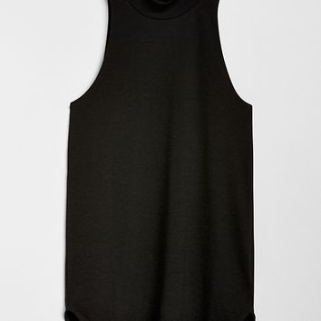 Softspun Sleeveless Mockneck Top|gap