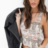 Explorer Flounced Crop Top